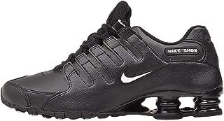 Men's Shox NZ Running Shoe Black/White/Black - 10 D(M) US
