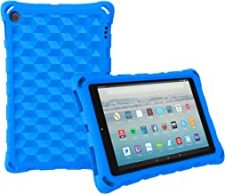 All-New Amazon Fire HD 10 Tablet Case (2019 2017 2015 Released)-Mr.Spades [Adult Friendly] [Kids Friendly] [Four Corner Protection] Light Weight Shock Proof Back Cover for Fire HD 10.1