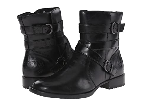 Womens Boots born black leather mcmillan grain bz3y12q9