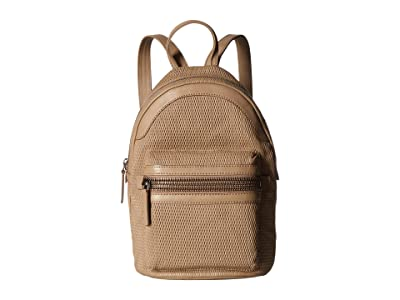 Frye Lena Perf Backpack (Taupe) Backpack Bags