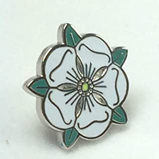 Small England County of Yorkshire White Rose Quality Enamel Badge