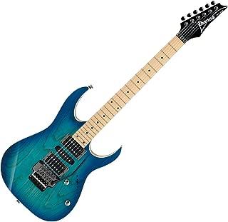 Ibanez RG Standard RG470AHM 6-String Electric Guitar, Ash Body, 24 Frets, Maple Neck, Maple Fretboard, Passive Pickup, Blue Moon Burst