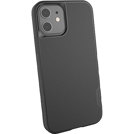 Smartish iPhone 12/12 Pro Slim Case - Gripmunk [Lightweight + Protective] Thin Cover (Silk) - Black Tie Affair