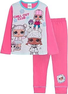 Bambina Tuta Sportiva Felpata Jogging Ginnastisca Cordinato Felpa con Zip Full Print e Pantalone Characters Cartoons LOL Surprise