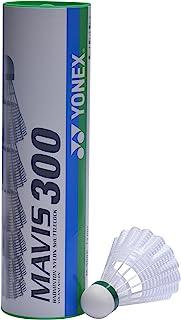 Yonex Mavis 350 Lot de 3 balles de badminton en nylon Bleu Moyen M-350BP