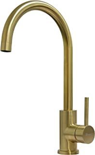 TRYWELL Single Handle Bar Sink Faucet (Gold)