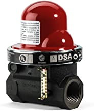 Pacific Seismic Products 301 Series Horizontal Earthquake Gas Shut-Off Valve, 1-Inch