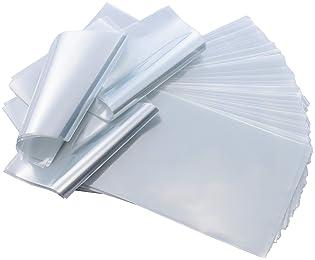 Soaps 100 pcs Quality 9 x 14 inch PVC Shrink Wrap Bags for Books Bath Bombs B