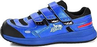 SAFEYEAR Zapatos de Seguridad y Calcetines de Trabajo de Cuero Transpirable (5 Pares) - 7296 Zapatillas de Seguridad Liger...