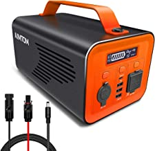 AIMTOM SPS-230 Portable Power Station, 230Wh Battery Powered Generator Alternative with 12V, AC, Type-C and USB Outputs, Pure Sinewave Inverter, Solar Generator for Outdoors Camping Fishing Hunting