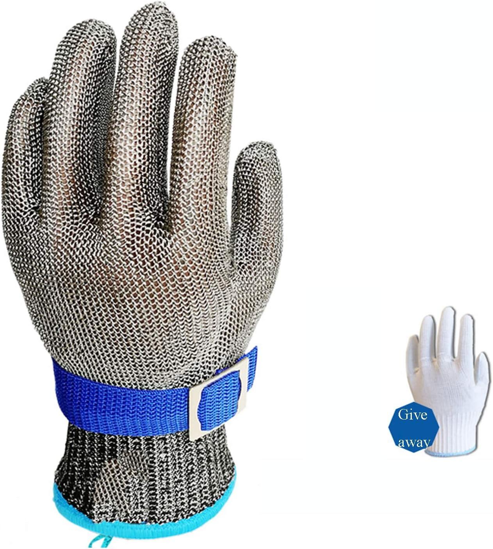 XL M S WXYZ schnittschutzhandschuhe Arbeitshandschuhe Size : XX-Large L 1 St/ück XS XXL Zum Schlachten Im Gem/üsegarten Schnittfeste Handschuhe Aus Edelstahl 361L