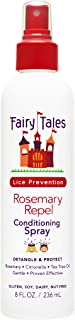 Fairy Tales Rosemary Repel Daily Kid Conditioning Spray for Lice Prevention, 8 Fl Oz (Pack of 1)