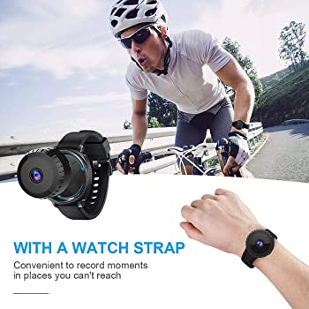 [New APP] AOBO Mini Spy Camera Wireless Hidden Home WiFi Security Cameras with App 1080P Night Vision Motion Activate...