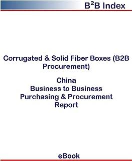 Corrugated & Solid Fiber Boxes (B2B Procurement) in China: B2B Purchasing + Procurement Values