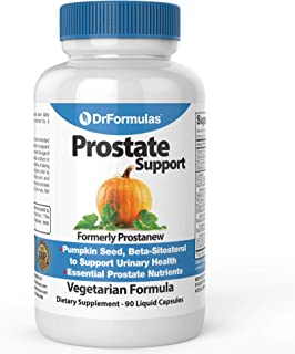 DrFormulas Super Prostate Supplement   Best Prostate Support with Saw Palmetto Extract, Beta Sitosterol, Pumpkin Seed Oil ...