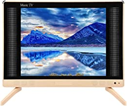 $138 » Oumij Easy Operation Mini HD TV, 17inch HD LCD TV Mini High Definition Television with Bass Sound Quality 110-240V (US)