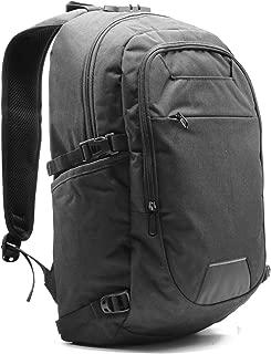 "Business Waterproof Travel Laptop Backpack - USB Charging Port Computer Bag for Men and Women, Slim Water Resistant – University, School Book Bag Fits Below 21"" in Laptop & Notebook – Black Color"