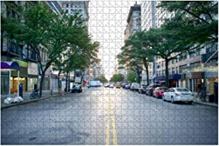 Jigsaw Puzzle 1000 Pieces New York City Adults Leisure Children Education Creative Art Toys Meaningful Gifts Family Activi...