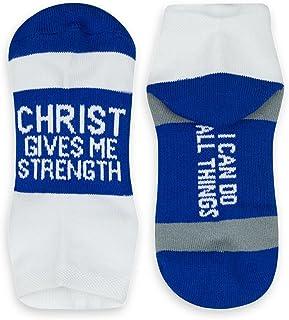 جوراب های در حال اجرا الهام بخش ورزشی | پارچه بافی زنانه بافته شده | شعارهای الهام بخش | بیش از 25 سبک