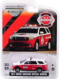 Greenlight 1/64 Fire Rescue 2017 Dodge Durango SUV
