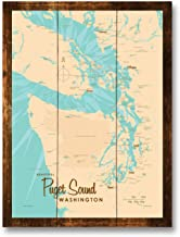 puget sound washington state map