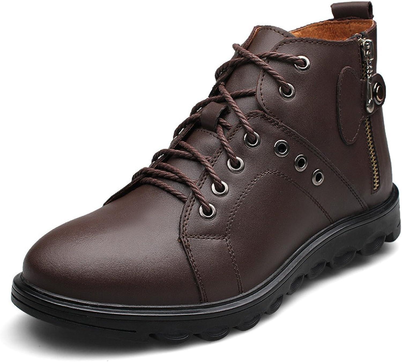 Winter Men Cotton shoes Comfortable Wild Men High To Help Casual shoes Warm Men's shoes