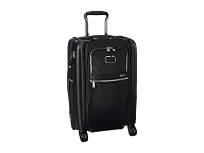 Tumi Alpha 3 International Dual Access 4 Wheeled Carry-On (Black Chrome) Luggage