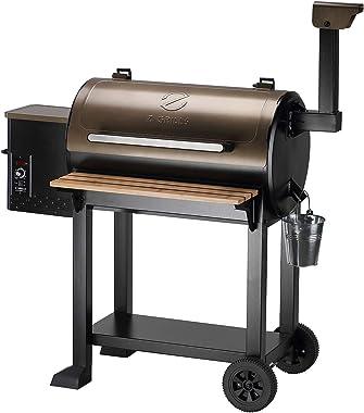 Z GRILLS 2021 New Model Wood Pellet Grill BBQ Smoker Outdoor Cooking ZPG-550C