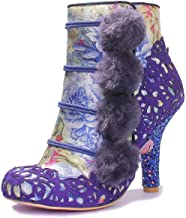 Irregular Choice Slummber Party Womens Synthetic Boots (9 US, Navy)