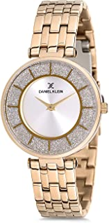 Daniel Klein DK12176-2 Women's Rose Gold Dial Analogue Watch