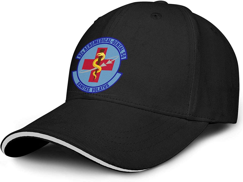 SWNCNC Unisex overseas Ranking TOP14 Aeromedical-Dental-Emblem- Cap Hat Cotton