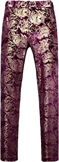MOGU Men's Luxury Print Pants Size 29/30