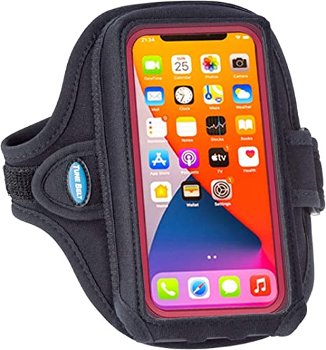 Tune Belt AB92 Cell Phone Running Armband Holder for iPhone 11/12/13 Pro Max, 11/XR/XS Max and Galaxy Note/Plus/Ultra...