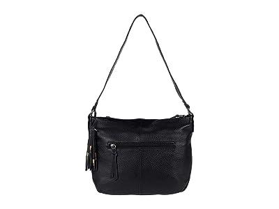 The Sak Melrose Hobo (Black) Handbags