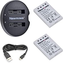 Newmowa EN-EL5 Replacement Battery (2-Pack) and Dual USB Charger for Nikon EN-EL5 and Nikon Coolpix P530, P520, P510, P100, P500, P5100, P5000, P6000, P90, P80 Cameras