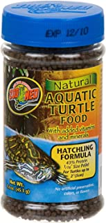 Zoo Med Natural Aquatic Turtle Food - Hatchling Formula (Pellets) 1.9 oz - Pack of 2 best prices on amazon