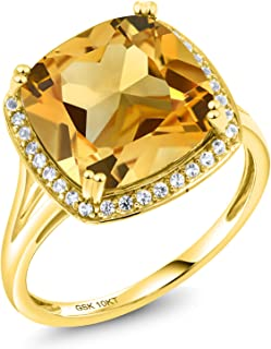 raw yellow diamond ring