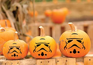 Clone Trooper - Star Wars Vinyl Decal, Pumpkin Decorations, Halloween Fun, Star Wars Gifts, Jack O Lantern Art