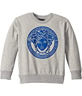 Versace Kids - Sweatshirt with Medusa Logo (Little Kids)