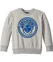 Versace Kids - Sweatshirt with Medusa Logo (Little Kids)