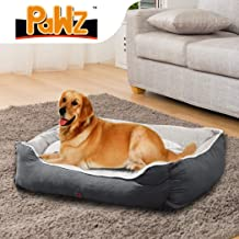 PaWz Pet Bed Dog Beds Mattress Bedding Cover Calming Cushion Grey XL 90x72x29cm 90x72x29cm