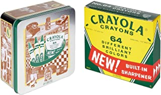 Crayola 繪兒樂 六十周年紀念套裝,馬口鐵盒裝蠟筆,64支