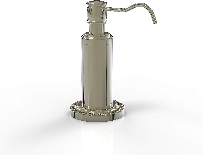 Manufacturer OFFicial shop Allied Brass DT-61 Dottingham Collection Dispens Vanity Soap Top Fresno Mall