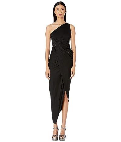 Vivienne Westwood One Shoulder Vian Dress (Black) Women