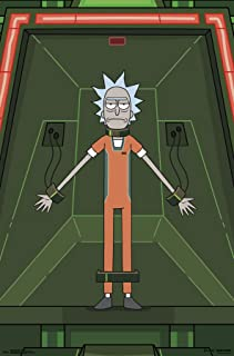 Trends International Rick and Morty - Shackled Wall Poster, 22.375