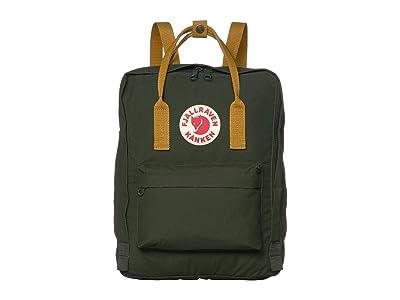 Fjallraven Kanken (Deep Forest/Acorn) Backpack Bags