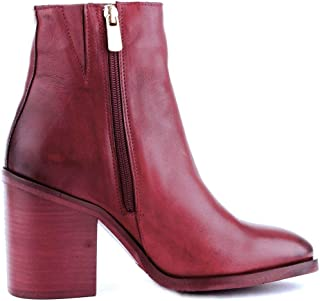 Luxury Fashion Womens Ankle Boots Winter Red