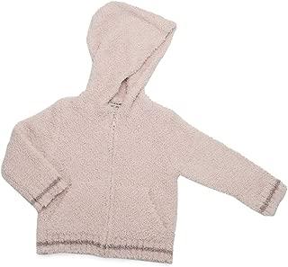 Barefoot Dreams CozyChic Kid's Zip-Up Hoodie, Warm Knit Hooded Sweatshirts