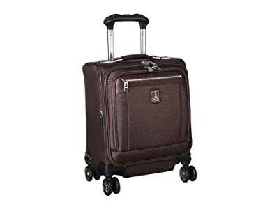 Travelpro Platinum(r) Elite Carry-On Spinner Tote (Rich Espresso) Luggage