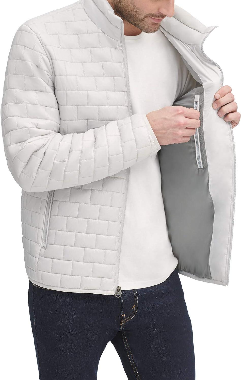 Dockers mens Lightweight Ultra Loft Quilted Packable Jacket (Regular and Big & Tall)